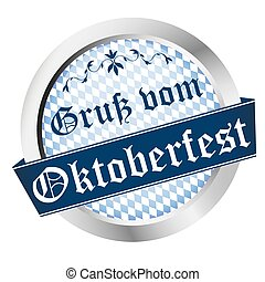 Button Oktoberfest Germany Munich