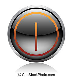 Button-Power-Cencel-Control-Computer button-Off-Start-Click-Symbol-Shut-Signal