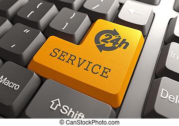 button., service, clavier