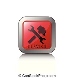 Button service tools