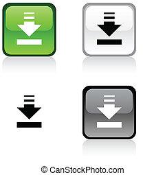 button., téléchargement