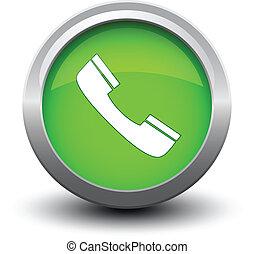 button telephone call 2d