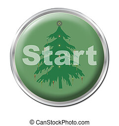 Button To Start Christmas