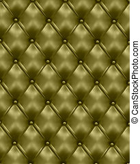 button-tufted leather backgrounds.