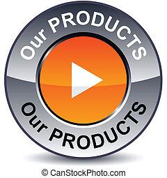 button., vår, runda, produkter