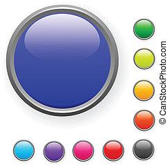 Button. [Vector]