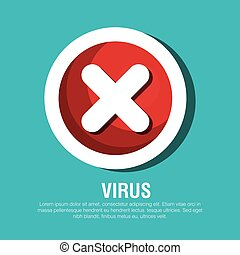 button virus protection error isolated