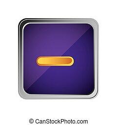 button volume down background purple