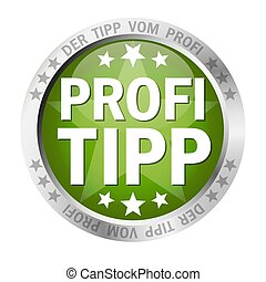 Button with banner Profitipp