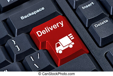 Button with car delivery.