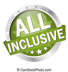button with text All inclusive