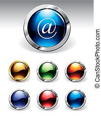 buttons, блестящий