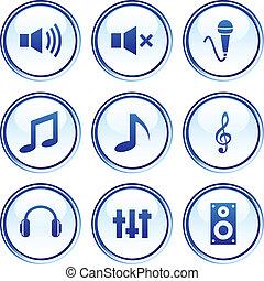 buttons., オーディオ