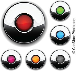 buttons., グロッシー