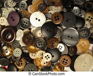 buttons 1 - assortment of buttons