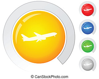 buttons airplane