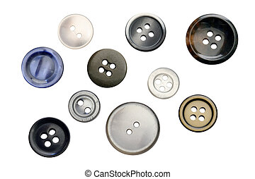 Buttons - Different isolated buttons