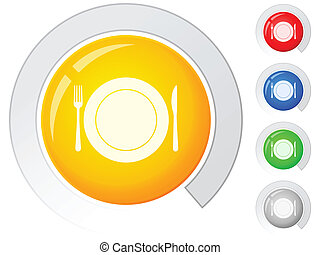 buttons dishware