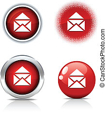 buttons., e-mail