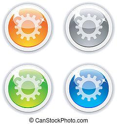 buttons., einstellungen