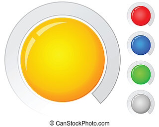 buttons empty