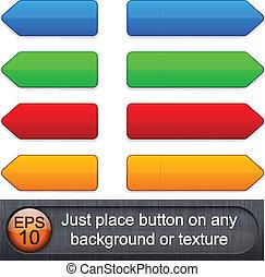 buttons., high-detailed, modern