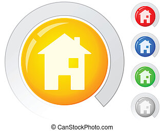 buttons house