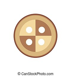 Buttons icon on a white background. Vector illustration.