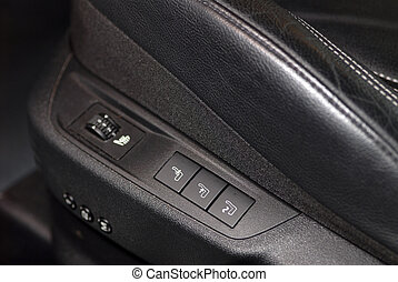 buttons in the car seat massagers