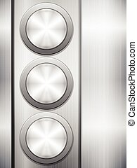 Buttons metal