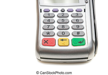 Buttons of the keyboard POS terminal - Buttons of the...