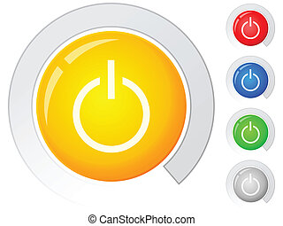 buttons power