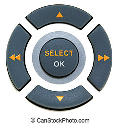 buttons select and ok