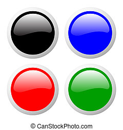 buttons set color