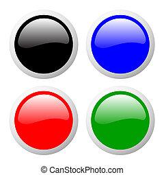 buttons set color