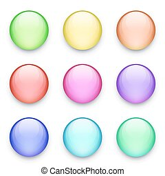 Buttons set