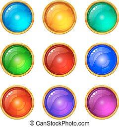Buttons, Set