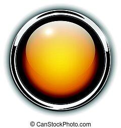 Buttons shiny metallic