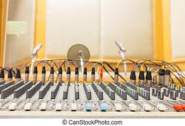 buttons sound mixer