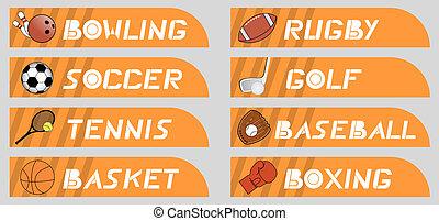 Buttons sport