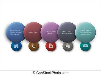 Buttons web design