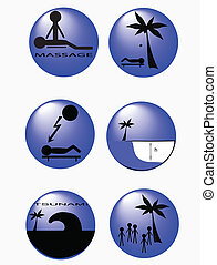 buttons_information, plage