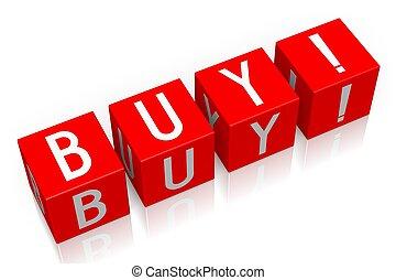 Buy - 3D cube word