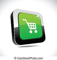 Buy 3d square button.