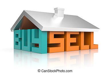 Buy and sell metaphor