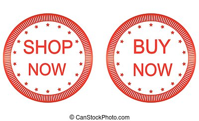 buy and shop now vector button