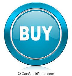 buy blue icon