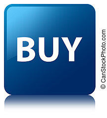 Buy blue square button