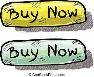 Buy Button Sketch