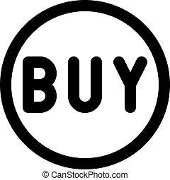 buy circle button